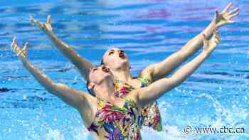 Canada's Holzner, Simoneau earn 2nd straight gold at Barcelona artistic swimming event