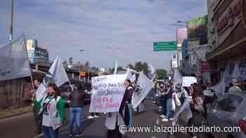 Trabajadores del Bingo Ciudadela se movilizan por falta de pago - La Izquierda Diario