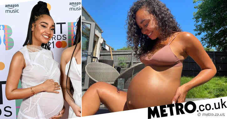 Little Mix star Leigh-Anne Pinnock says pregnancy is 'hardest thing she's ever done' as she shares sun-soaked snap