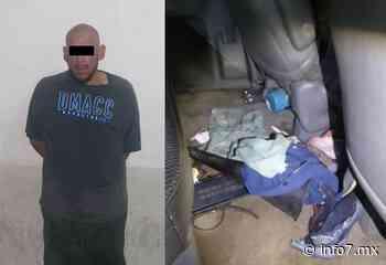 Detienen a hombre por intento de secuestro en Guadalupe - INFO7 Noticias