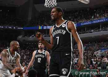 Bucks 107, Nets 96: Kevin Durant Scores 28 But Milwaukee Evens Series