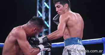 Boxeo: Leonardo Amitrano ganó por nocaut ante Elías Haedo - Vía País