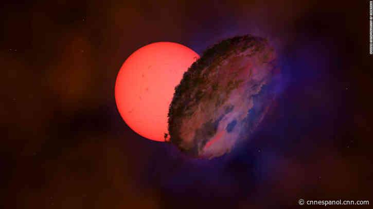 Descubren una estrella gigante que parpadea dentro de la Vía Láctea - CNN