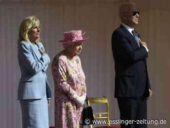 Treffen in Windsor: Queen empfängt US-Präsident Biden und First Lady - esslinger-zeitung.de