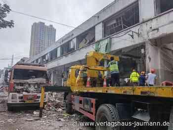 Unfälle: Explosion in Markthalle tötet zwölf Menschen in China - www.verlagshaus-jaumann.de
