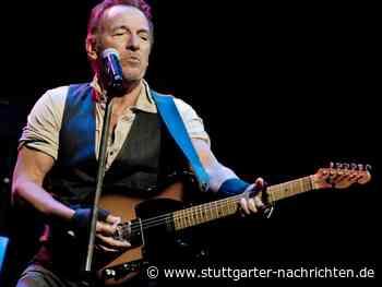 Bruce Springsteen: Der Sänger verrät Details über seine kommende Tour - Stuttgarter Nachrichten