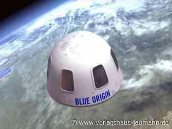 Raumfahrt: Ticket ins All für 28 Millionen Dollar versteigert - www.verlagshaus-jaumann.de