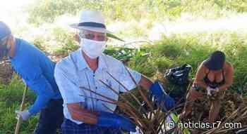 Moradores criam projeto para realizar limpeza em praias de Vila Velha - HORA 7