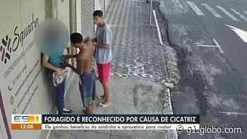 Foragido é reconhecido por causa de cicatriz e recapturado em Vila Velha, ES - G1