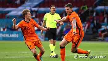 'An emotional rollercoaster' - De Jong loses voice cheering on Netherlands in dramatic 3-2 Euro 2020 win over Ukraine
