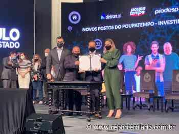 Estado anuncia posto do Poupatempo em Rio Grande da Serra - Repórter Diário