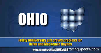 Feisty anniversary gift proves precious for Brian and Mackenzie Haynes - Harness Racing Update