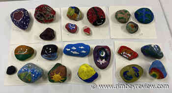 The 'kindness rock snake' continues to take shape in Rimbey - Rimbey Review