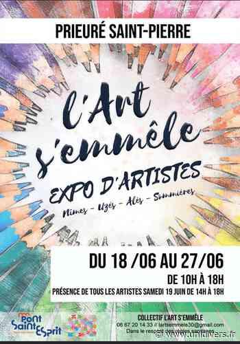 L'art s'emmêle – expo d'artistes Pont-Saint-Esprit Pont-Saint-Esprit vendredi 18 juin 2021 - Unidivers
