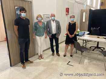 PONT-SAINT-ESPRIT Centre de vaccination : plus de 4 200 injections en deux mois et demi d'ouverture - Objectif Gard