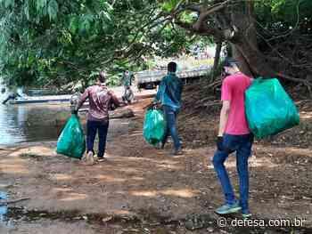 Em parceria, Sedam promove limpeza do rio Machado em Cacoal; ação faz parte da Semana do Meio Ambiente - Defesa - Agência de Notícias
