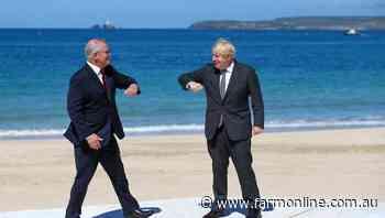 PM eyes UK trade talks after G7 summit