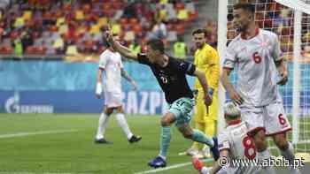 Áustria arranca com triunfo sobre a Macedónia do Norte - A Bola