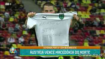 Áustria estreou-se no Grupo C com triunfo sobre a Macedónia do Norte - RTP