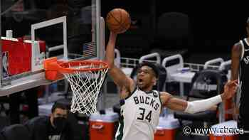 Bucks even series against undermanned Nets behind Antetokounmpo's big game
