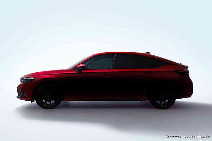 El nuevo Honda Civic hatchback se asoma en su primer teaser: lo conoceremos muy pronto - Motorpasión