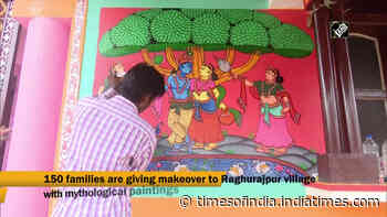Odisha village paints murals to welcome tourists post COVID