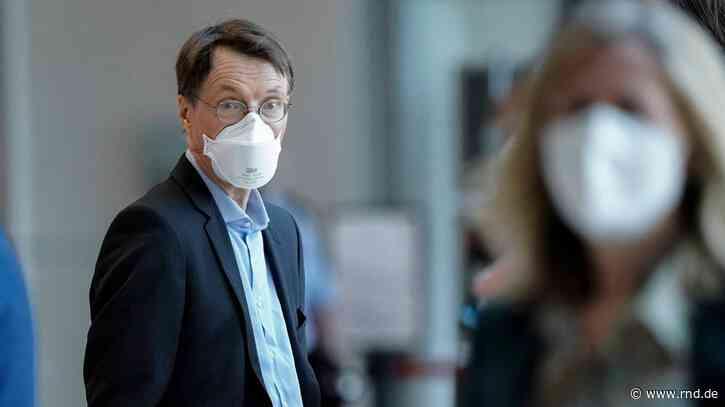 Karl Lauterbach: Lockerung der Maskenpflicht möglich - RND