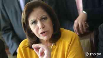 Lourdes Flores invoca a la autoridad electoral a actuar con prudencia al resolver los pedidos de nulidad de actas - RPP Noticias