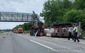 Gefahrgutunfall auf der A 2 - Marl - Lokalkompass.de