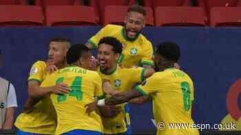 Brazil kick off Copa with win vs. Venezuela