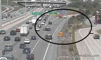 OPP investigating crash on QEW in Oakville that has left 'all lanes closed' near off-ramp - InsideHalton.com