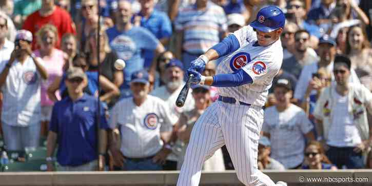 Wrigley erupts as Cubs' Anthony Rizzo hits home run in 14-pitch AB - NBC Sports Chicago