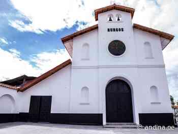 Amazonas celebra la entrega del remozado templo de Burgos en Chachapoyas - Agencia Andina