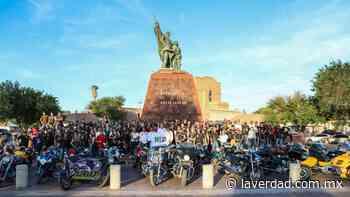 Recorren biker's calles de Nuevo Laredo para celebrar aniversario 173 - La Verdad de Tamaulipas