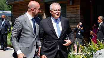 'Strong level of support': Scott Morrison says G7 leaders back Australia's stand over China