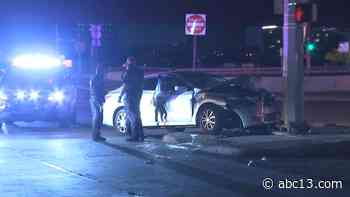 Woman killed in north Houston crash, husband faces intoxication manslaughter charge - KTRK-TV