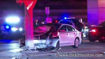 HPD: Woman killed in north Houston crash, husband taken into custody on suspicion of DWI - KPRC Click2Houston