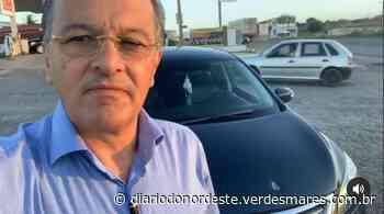 Vice-prefeito de Juazeiro do Norte sofre tentativa de assalto e tem carro baleado em Chorozinho - Diário do Nordeste