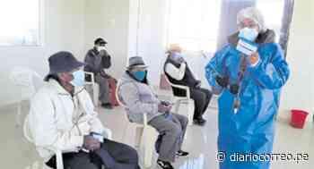 Vacunan a residentes de Tambo Cañahuas - Diario Correo