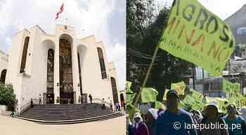 Arequipa: jueces emitirán por despacho fallo sobre dirigentes del Valle de Tambo - LaRepública.pe