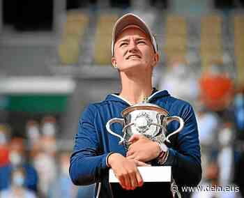 Krejcikova toca el cielo en Roland Garros - Deia