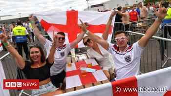 Euro 2020: Fans watch England beat Croatia in opening game