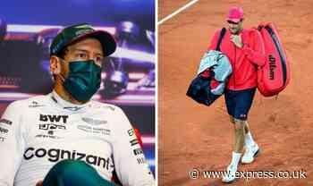 Sebastian Vettel will not copy Roger Federer as he addresses F1 retirement thoughts - Daily Express