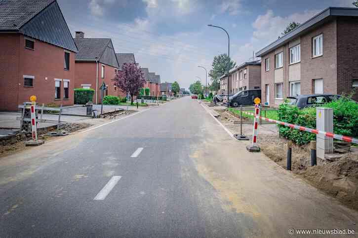 Gemeentebestuur Heusden-Zolder investeert in aanleg nieuwe voetpaden