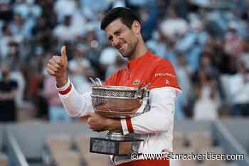 Serbia's Novak Djokovic wins 2021 French Open - Honolulu Star-Advertiser