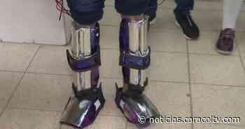 Estudiantes de colegio en Envigado ganan premio por inventar detector de minas antipersonal - Noticias Caracol