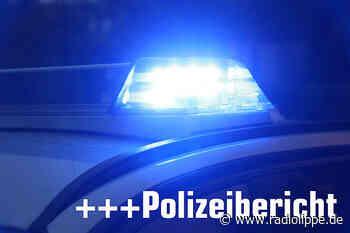 Bad Salzuflen - Zusammenstoß zwischen Leichtkraftrad und - Radio Lippe