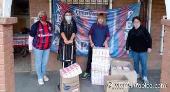 """La peña """"Cuervos de La Pampa"""" continúa con sus acciones solidarias: Esta vez donó 150 kilos de harin... - InfoPico.com"""