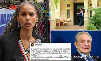 Maya Wiley received $500,000 from hedge-fund billionaire George Soros who bankrolled her for decades
