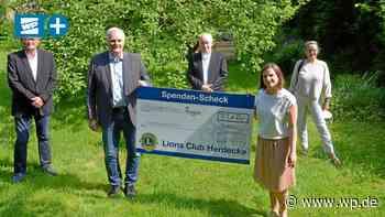 Herdecke: Mädchenhaus Mäggie freut sich über Lions-Spende - Westfalenpost